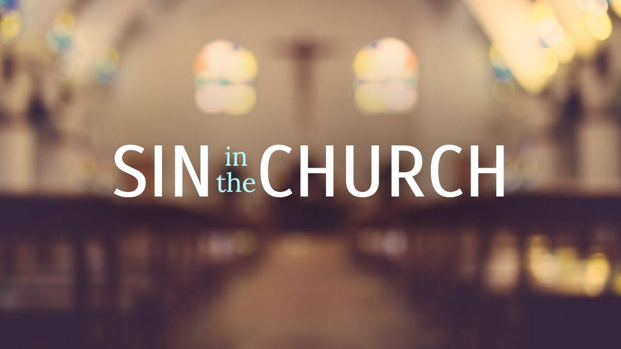Sin in the Church